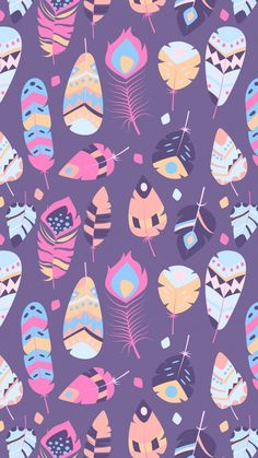 Shared by Find images and videos about wallpaper, background and pattern on We Heart It - the app to get lost in what you love. Trendy Wallpaper, Wallpaper Iphone Cute, Cellphone Wallpaper, Screen Wallpaper, Cute Wallpapers, Wallpaper Wallpapers, Feather Wallpaper, Flower Wallpaper, Pattern Wallpaper
