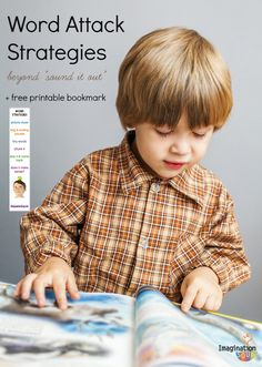 help your child to read words with this list of strategies + free printable strategy bookmark
