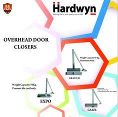 Hardwyn- Heavy Duty Overhead Door Closers