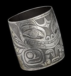 The Sea-Bear Bracelet, by Charles Edenshaw, at the National Gallery of Canada (handout photo)