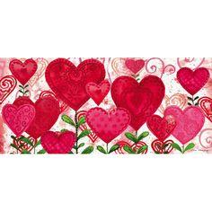 Evergreen Enterprises, Inc Planted Valentine Sassafras Doormat
