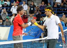 Historic Rivalry-the best in any sport.Federer & Nadal