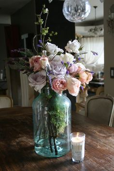 floral arrangement from Amy Hanna