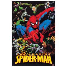 SPIDER MAN - The Amazing Spider-man 60x90 cm #artprints #interior #design #art #print #cartoon  Scopri Descrizione e Prezzo http://www.artopweb.com/categorie/cartoni/EC21942