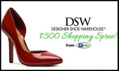c0f3d7b66fd7 Enter to Win  500 DSW Designer Shoes Sweepstakes Only Fashion
