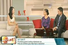 How to Commit to Your New Year's Resolutions (My Jan 2014 Interview on Channel News Asia) Inspirational Articles, Why People, Resolutions, Life Is Good, Leadership, First Love, Interview, Channel, Asia