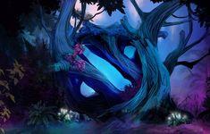 """Loadingscreen for """"magic forest hudskin"""" in dota Petr Ledecky Screen Wallpaper Hd, Dota 2 Wallpaper, Magic Forest, Forest Art, Dota 2 Logo, Dual Monitor Wallpaper, Defense Of The Ancients, Dota 2 Game, Forest Wallpaper"""