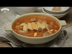 Korean kimchi pork stew(ENG SUB) - 돼지고기김치찌개 (영문자막)_korean food recipe by handycook - YouTube