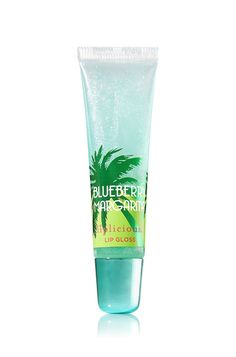 Bath and Body Works Liplicious South Beach Cool Gel Lip Gloss and Balm