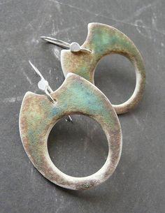 CHOMP Hoops - Porcelain Earrings   Flickr - Photo Sharing!