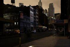 Manhattan Power Shutdown By Photographer Christophe Jacrot