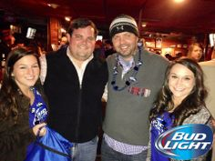 Good times at Gallettes! #Gallettes #BeerlovesTtown #BudLight