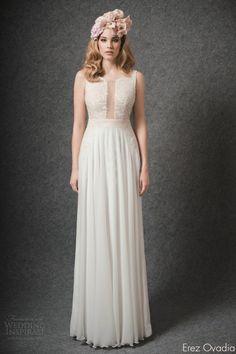 Erez Ovadia 2015 Wedding Dresses — Blossom #Bridal Collection | Wedding Inspirasi #wedding #weddings #weddinggown #weddingdress