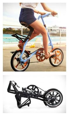 Thinking of purchasing a folding bike? Come read about all the reasons riding and owning a folding bicycle are some of the best adventures and transportation you can own. Mini Velo, Girl Dorms, Folding Bicycle, Geek Gadgets, Cycle Chic, Smart City, Bike Design, Vintage Motorcycles, Cool Stuff