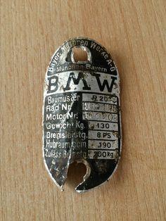 Typenschild BMW R20