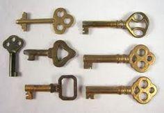 Antique furniture keys