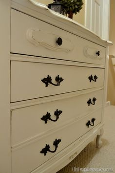 dresser redo Oh my goodness this is the dresser I have!