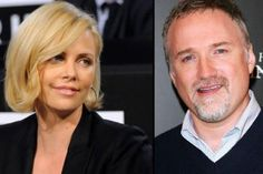 David-Fincher et Charlize Theron