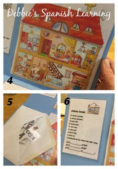 {Affiliate links used.} A few years back, I found an old game at a garage sale in which you have to guess where the family membe. Spanish Games, English Games, Spanish Activities, Class Activities, Activity Games, Spanish Basics, Spanish Lessons, Spanish Language Learning, Teaching Spanish