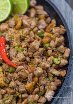 This Sizzling Tuna Sisig Recipe from Panlasang Pinoy is a quick and easy way to prepare fish sisig using fresh tuna meat. It can be enjoyed as a pulutan or a main dish. Tuna Fish Recipes, Pork Recipes, Seafood Recipes, Cooking Recipes, Healthy Recipes, Fresh Tuna Recipes, Filipino Dishes, Filipino Recipes, Asian Recipes