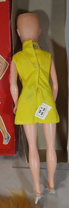 "LOVELY BOXED 1960s/70s 11"" TELSALDA WENDY WIG DOLL FASHION TEENAGE DOLL ORIGINAL"