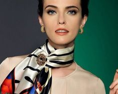 Scarf Rings, Accessories, Fashion, Moda, Fashion Styles, Fashion Illustrations, Jewelry Accessories