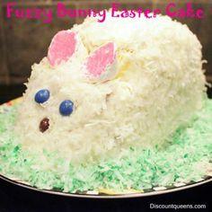 Fuzzy Bunny Cake #holiday _/