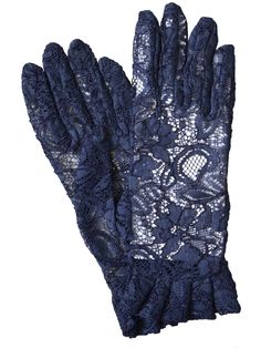 Dents Short Lace Dress Gloves with Ruffle Cuff - A firm favourite, these beautifully elegant gloves are made in fine quality lace fabric and have a ruffle cuff. Available in navy, black, white, red, hot pink, lime and ivory.