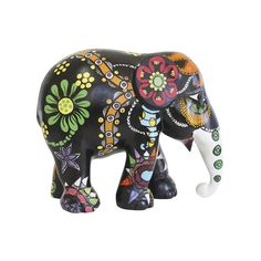 """Designed by Nannicha Pinkaew, the """"Party Garden"""" Elephant features in the current UK Tour."""