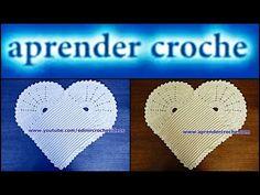 Tapete Crochê Coração #LuizadeLugh (English subtitles) - YouTube