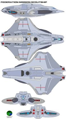 Federation Scout Ship