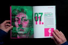 Jazzdor, festival de jazz de Strasbourg, brochure 2008, par Helmo. Portraits par Olivier Roller, paysages urbains par Tendance Floue et Thomas Couderc.