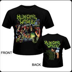 Camiseta de chico M/C Municipal Waste - The Art Of Partying