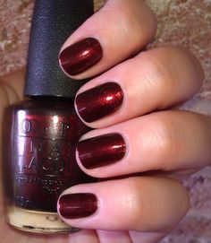OPI Germanicure - my newest nail color - great for fall!