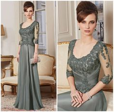 Find More Mother of the Bride Dresses Information about 2015 New Custom Made A Line 3/4 Sleeve Beaded Lace Floor Length Evening Gown Mother Of The Bride Dresses vestido mae da noiva,High Quality dresses gowns uk,China gown sleeve Suppliers, Cheap gowns formal dresses from Suzhou Babyonline Dress Store on Aliexpress.com