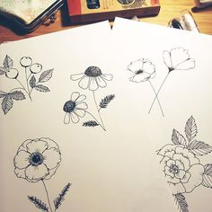 Doodling flowers.  Long time no see. Mainly Ive been blogging and stuff. The link to my site is in my profile. So check it out if you are interested in my thoughts and ideas.  I wanted to drop by and show off some doodles I made. Yes around 2 am at Sunday morning.  I was watching random videos on YouTube when I stumbled upon @shaydacampbell doodling these sort of flowers. And then I had to follow her lead.  Ill probably scan these and maybe post on my Patreon as high quality downloads… Illustration Art, Illustrations, Sunday Morning, Blogging, Web Design, Doodles, My Arts, Profile, Drop