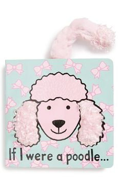 Jellycat If I Were a Poodle Board Book