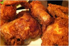 Perfect fried chicken has always eluded me until I started using this fabulous recipe. Learn the best kept secret to making the best fried chicken you've ever eaten here. Fried Chicken Recipes, Meat Recipes, Appetizer Recipes, Cooking Recipes, Turkey Recipes, Dessert Recipes, Healthy Recipes, Chicken Friend Steak, Seafood