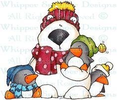 Bristol & Friends - Bears - Animals - Rubber Stamps - Shop