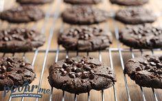 Шоколадное печенье — рецепт приготовления с фото
