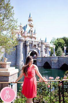 Portraits at Disneyland. Great idea.