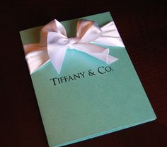 Tiffany Party Invitations