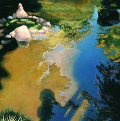 "Saatchi Online Artist Patty Neal; Painting, ""Looking Deep"" #art"