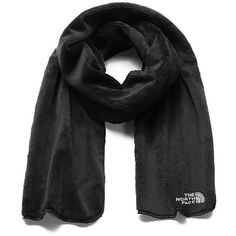 The North Face Women's Denali Thermal Scarf ($35) ❤ liked on Polyvore featuring accessories, scarves, fleece shawl, the north face and fleece scarves