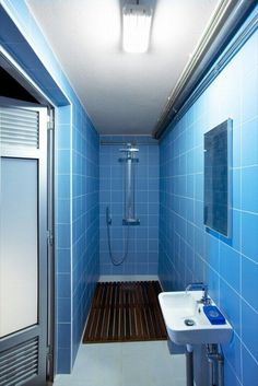 Bathroom Tile Ideas Blue beautiful-minimalist-blue-tile-pattern-bathroom-decor-also
