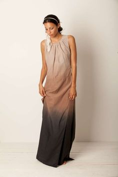 degradé dress momoé summer easy and chic woman
