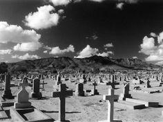 The Ghostly Grandeur Of A Desert Graveyard