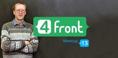 Today, on 19 October, at 19:00 (UTC+3) XB Software will hold a long-awaited 13th meetup for frontend developers  http://lnk.al/2YiQ