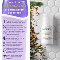 What's in your deodorant? This is my all time favourite clean deodorant! Only $8.99 order today and get $10 off at modere.ca/?referralcode=407902