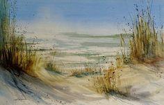 Lake Michigan by Sandra Strohschein - Lake Michigan Painting - Lake Michigan Fine Art Prints and Posters for Sale
